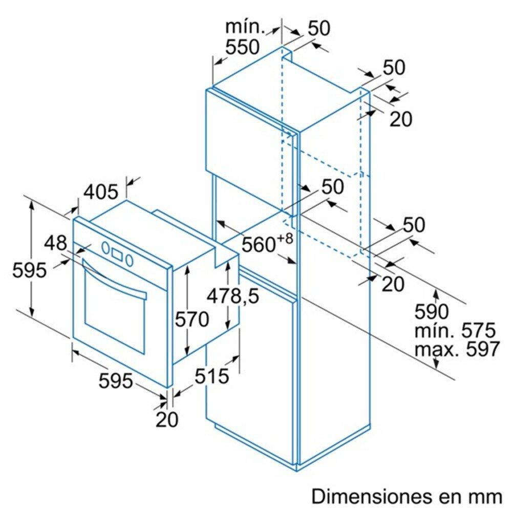 Balay 3HB504BM - Horno 3Hb504Bm Con 6 Funciones: Amazon.es ...