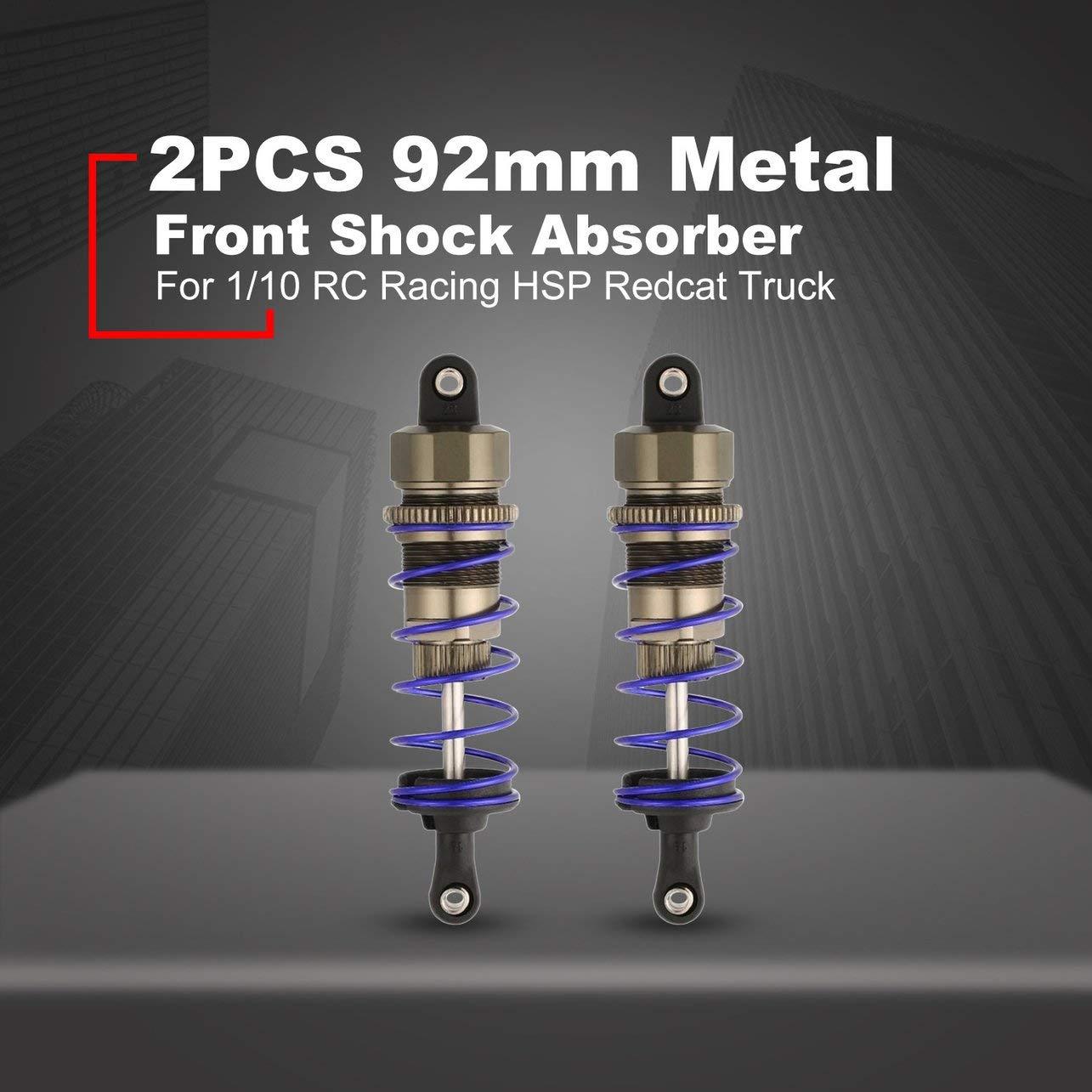 p/úrpura 92mm 80mm 90mm aceite ajustable 100mm resorte del metal Amortiguador Amortiguador de 1//10 RC Racing HSP Redcat Hongnor HPI Hobao Cami/ón