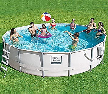 proseries 14 x 42 metal frame swimming pool with
