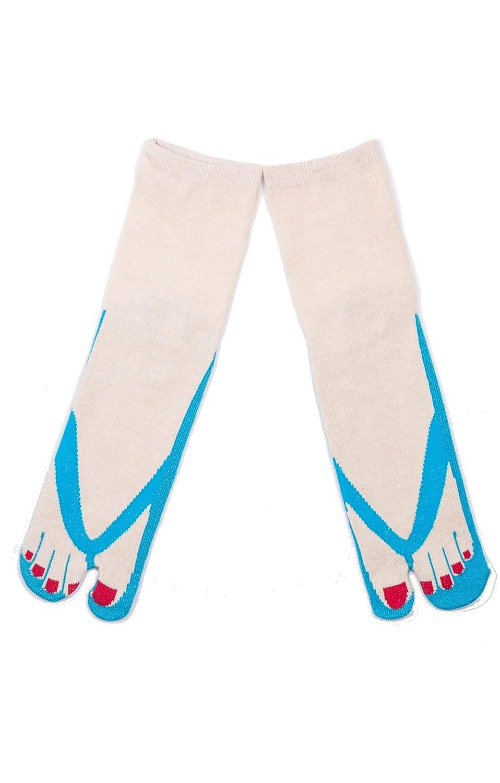 NINJA SOCKS SANDAL TABI SOCKS Made in JAPAN (EMERALD) at ...