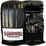 Amber Fight Gear Extreme Boxing Bag Gloves, Large
