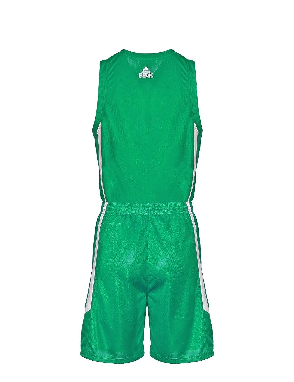 Peak Sport Europe Basketball Uniform Set und Shorts Team Camiseta de Baloncesto para Hombre