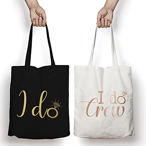 I DO CREW Hen Party Tote Bag Hen Do Bridesmaid Bride Tribe Wedding Party  Gift  Amazon.co.uk  Handmade 3a47cbf94c