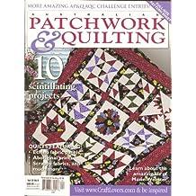 Australian Patchwork & Quilting Magazine Volume 20 # 8