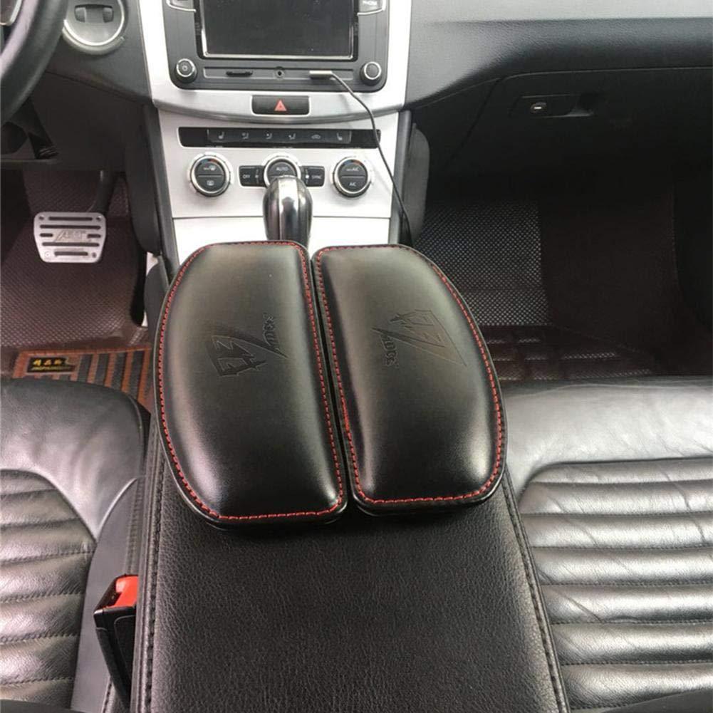 Universal Car Door Armrest,Soft Leather Driver Arm Protective Pad,Passenger Rest Support Pillow Fancylande Car Armrest Cushion