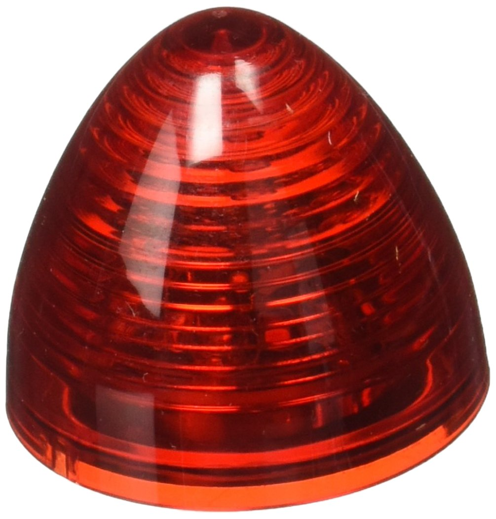RoadPro RP-1271R Red 2Beehive Sealed LED Decorative Light with Plug-In Connection