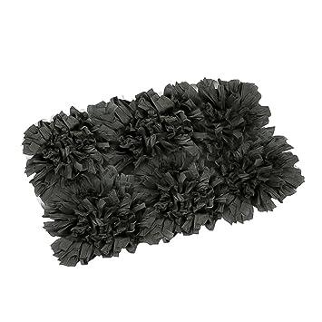FHE Group Tissue Rug Bath Mat, 30 By 20 Inches, Black