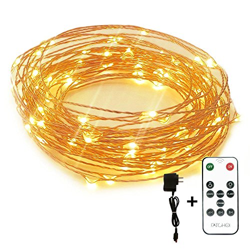 Led String Lights Dimmable : Galleon - Led String Lights Dimmable Copper Wire Starry Light, 33ft, UL Certified 5v Power ...