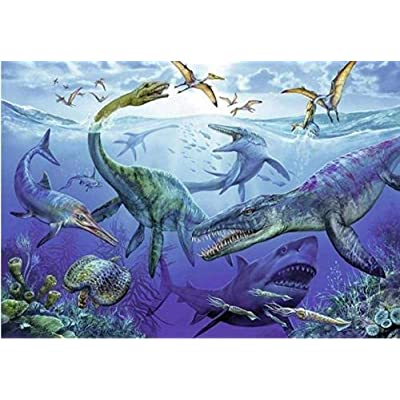 Mocmm Jigsaw Puzzles Jigsaw Puzzles for Adults 1000 Piece - Underwater Animal Dinosaur - Kids Puzzles Toys Educational Puzzles Jigsaw: Toys & Games