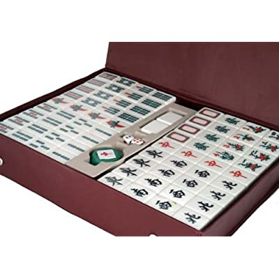 Traditional Chinese Version Mahjong Game Set by Asian Home: Toys & Games [5Bkhe1401526]