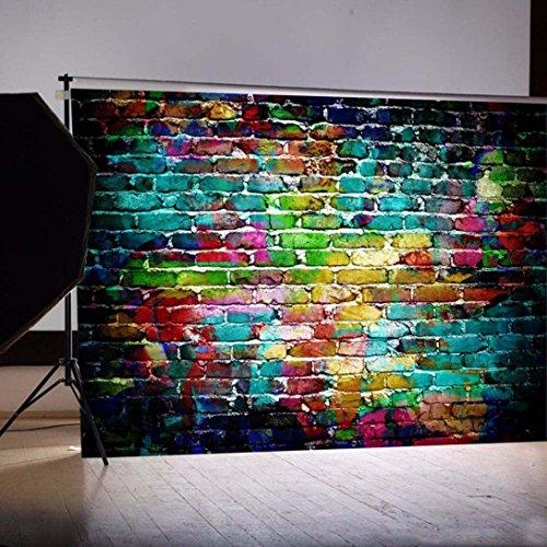 WensLTD Clearance! Vinyl Wood Wall Floor Photography Studio Prop Backdrop Background 3x5FT (E-1)