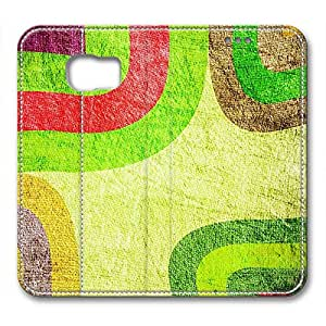 Samsung S6 leather Case,Samsung S6 Cases ,Multicolored paper Custom Samsung S6 High-grade leather Cases