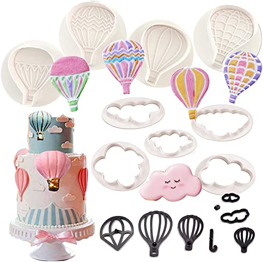 Hot air balloon cookie and fondant cutter US SELLER!!