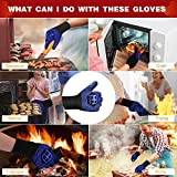 BBQ Gloves 1472℉ Extreme Heat Resistant Grill
