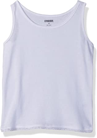 Gymboree Girls Toddler Basic Lace Trim Solid Tank