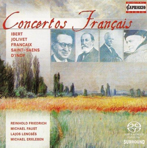 - Ibert, J.: Flute Concerto / Francaix, J.: Quadruple Concerto / Jolivet, A.: Concertino for Trumpet and Piano (Concertos Francais)