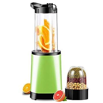 HhGold Exprimidor casero automático de Frutas y Verduras Multi-Funcional Mini-Mini Estudiante exprimidor de Frutas Frito, Verde Fluorescente (Color ...