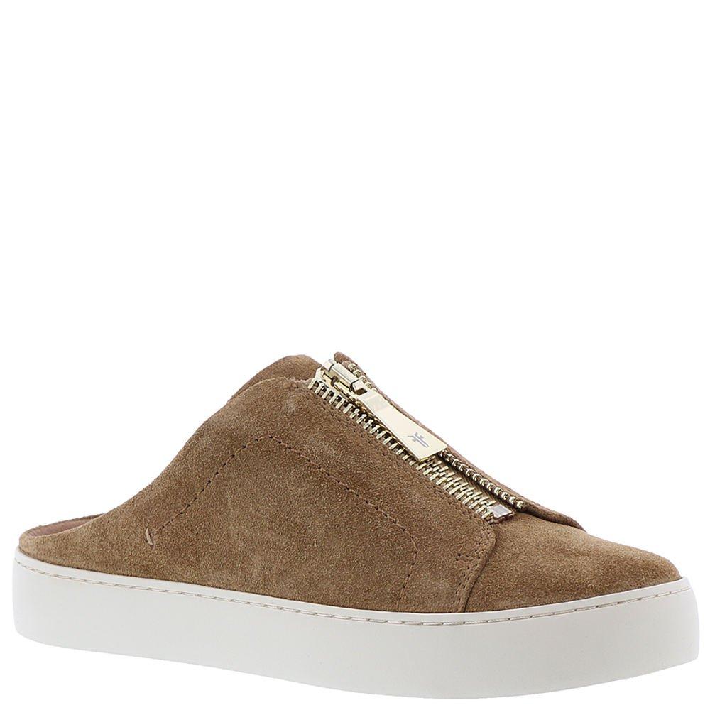 FRYE Women's Lena Zip Mule Sneaker B071WSPGLS 9.5 B(M) US|Tan Soft Oiled Suede