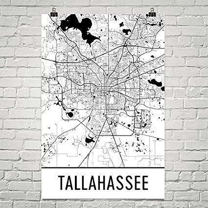Amazon.com: Tallahassee Poster, Tallahassee Art Print, Tallahassee ...