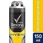 Antitranspirante Aerosol V8 Rexona Men Motionsense 150Ml, Rexona, Branco