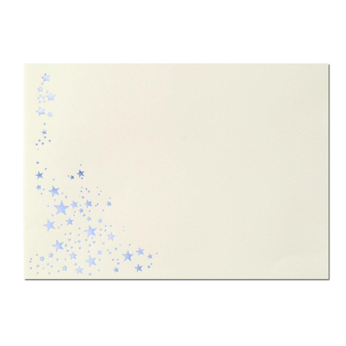 300x Weihnachts-Briefumschläge     DIN C6   mit Gold-Metallic geprägtem Sternenregen  Farbe  Sandbraun  Nassklebung, 120 g m²   114 x 162 mm   Marke  GUSTAV NEUSER® B07CHRQFQN | Die Farbe ist sehr auffällig  | Umweltfreundlich  | Angeme d6d068