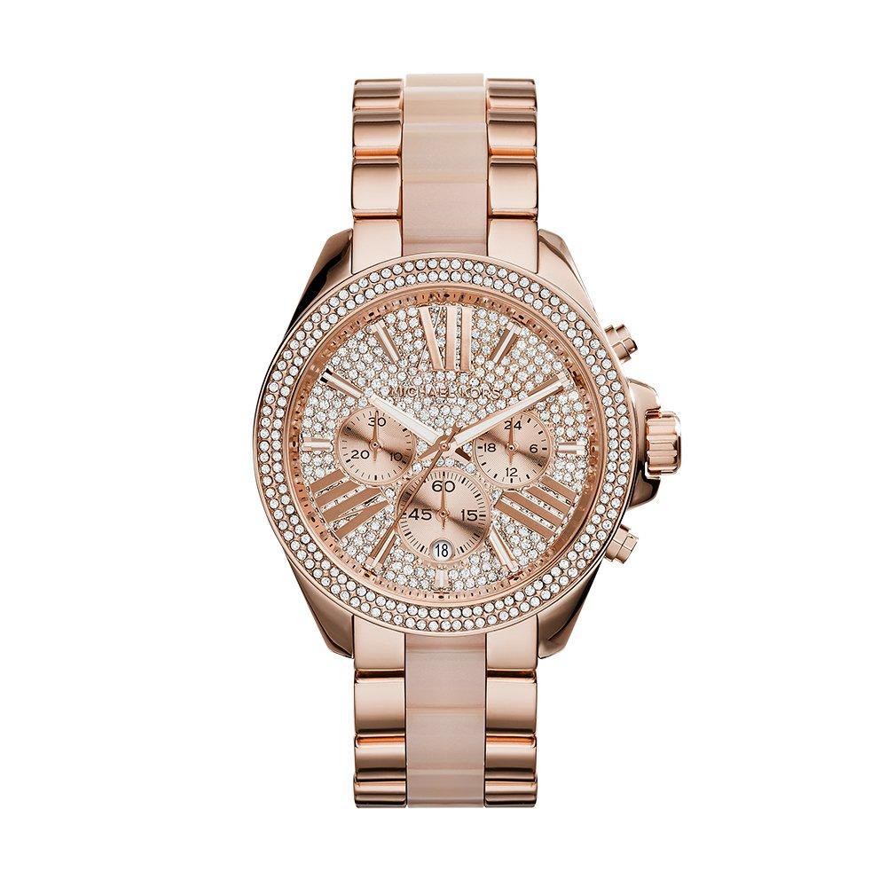 Michael Kors Women's Wren Two-Tone Watch MK6096