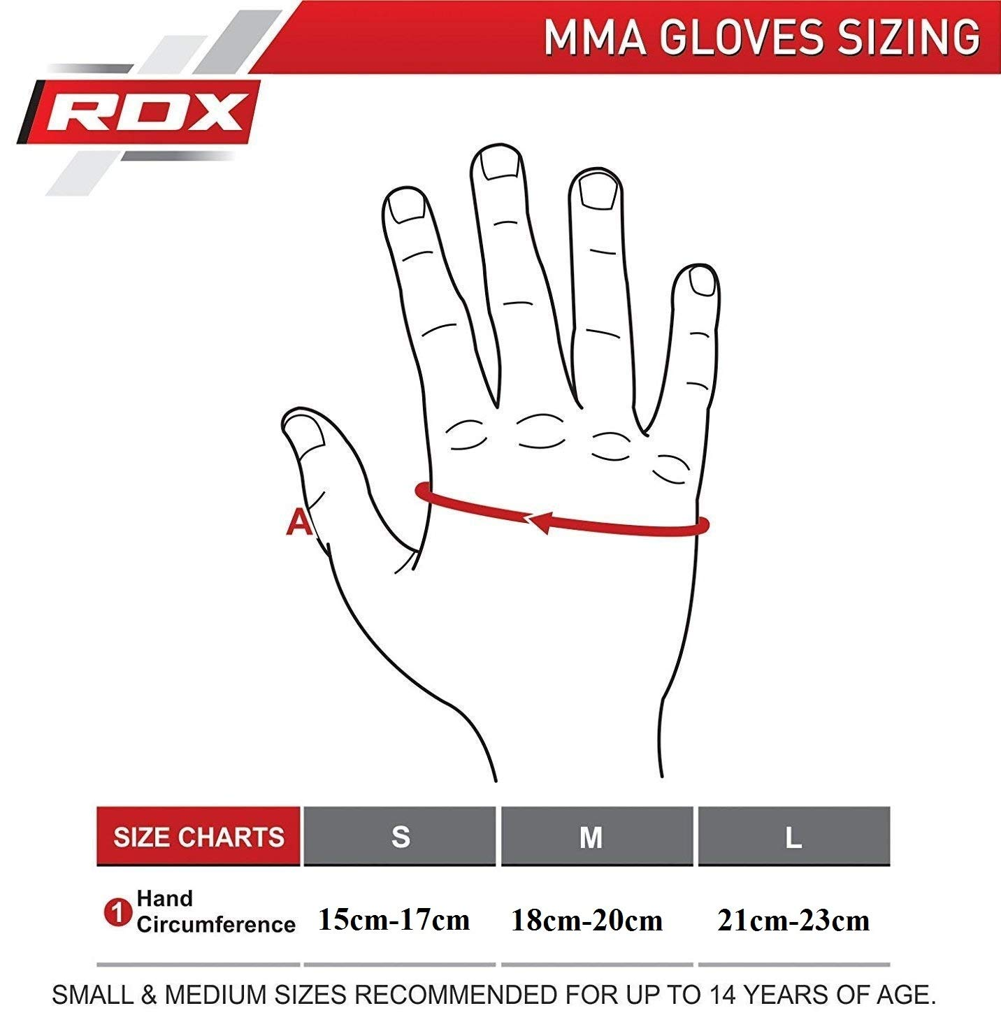 RDX Guantes MMA Mujer Maya Ocultar Grappling Cuero Lucha contra La Jaula De Sparring Entrenamiento Guante.