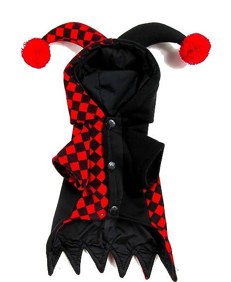 qwesl Disfraz De Payaso De Halloween para Mascotas Material Grueso ...
