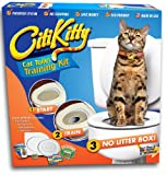 Cat Toilet Training Kit CitiKitty Cat Toilet Training Kit