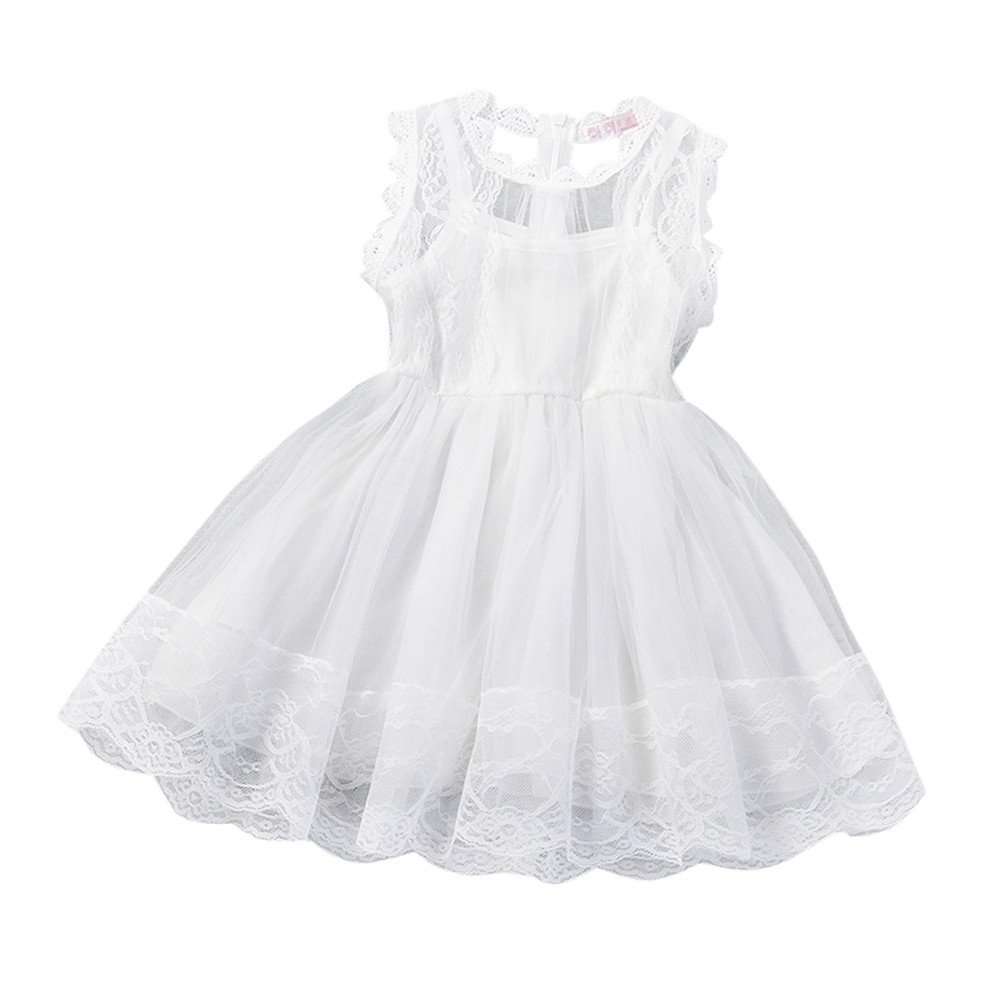 feiXIANG Vestido de niña Brote Vestido de Gasa de Seda Vestido de Falda del Banquete de Boda Vestido de cumpleaños Princesa Pettiskirt Vestido de Fiesta: ...