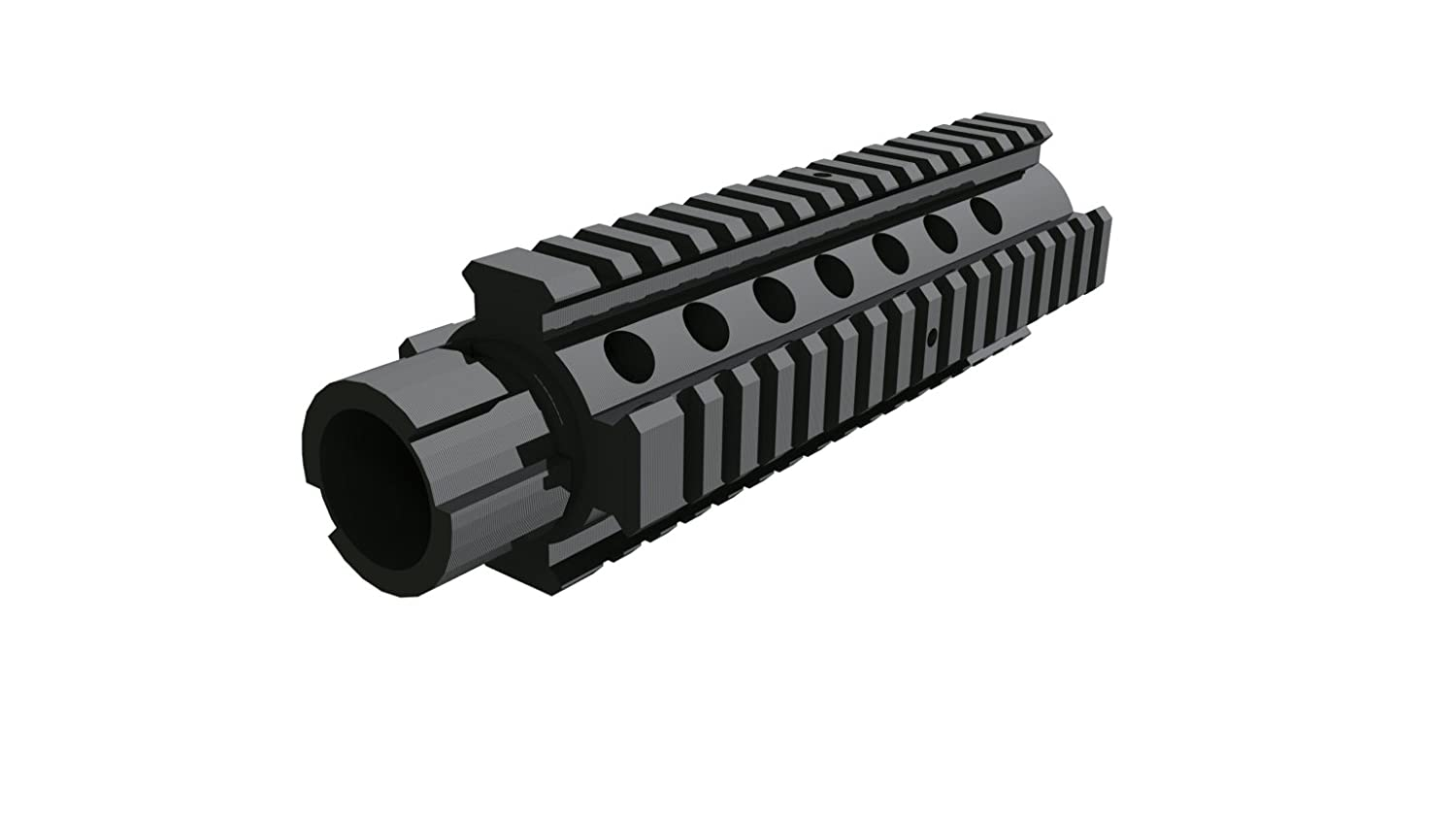 3D Printed M4 Barrel Extension for Nerf Models with an Interchangeable  Barrel Compatible with N-Strike Stryfe Longshot Mediator Recon and More! -  (Not