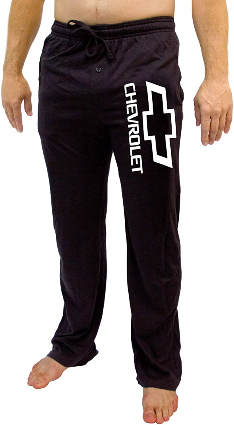 GM Chevrolet Logo Mens Black Sleep Pants