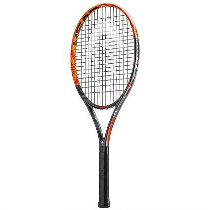 Head Graphene XT Radical Lite - Raqueta de Tenis, Color Naranja/Negro / Rojo