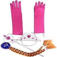 Katara Principessa Costume Set per Le Ragazze per Bambini, Anna Pink, 2-9 anni 0709317033694