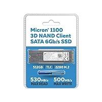 Micron 512GB 1100 TLC 3D NAND SATA III SSD Deals