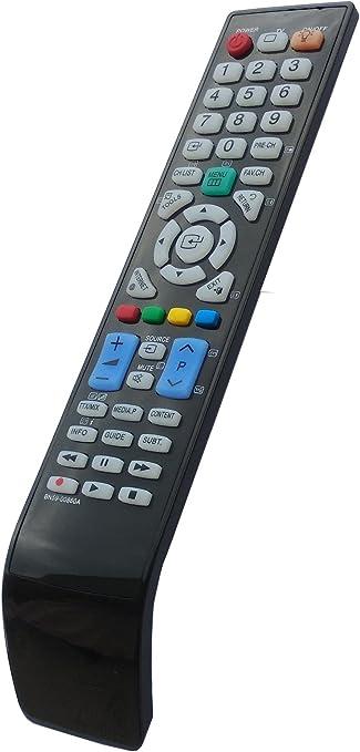 Mando a distancia universal para Samsung BN59-00860A BN5900860A TV: Amazon.es: Electrónica