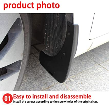 Car Mud Flaps for F ord Mondeo 2013-2019 Car Wheel Custom Mudflaps Front Rear MudGuards Premium Heavy Duty Rally Armor Fender 4PCS