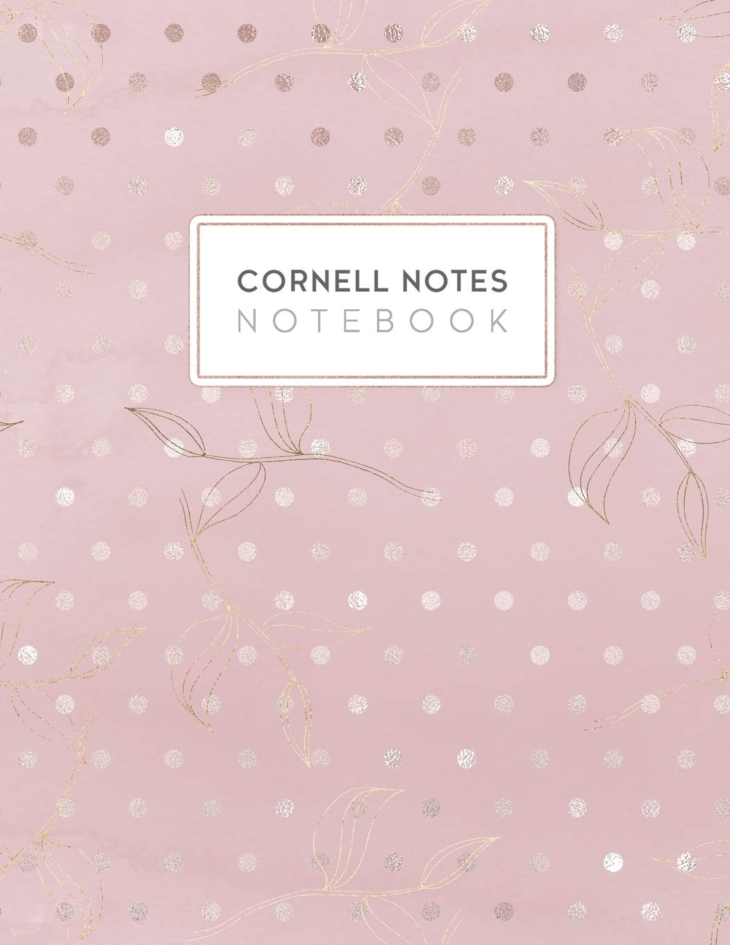 Cornell Notes Notebook Cornell Style Paper Journal College Ruled