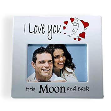 Amazoncom Banberry Designs True Love Picture Frame I Love You
