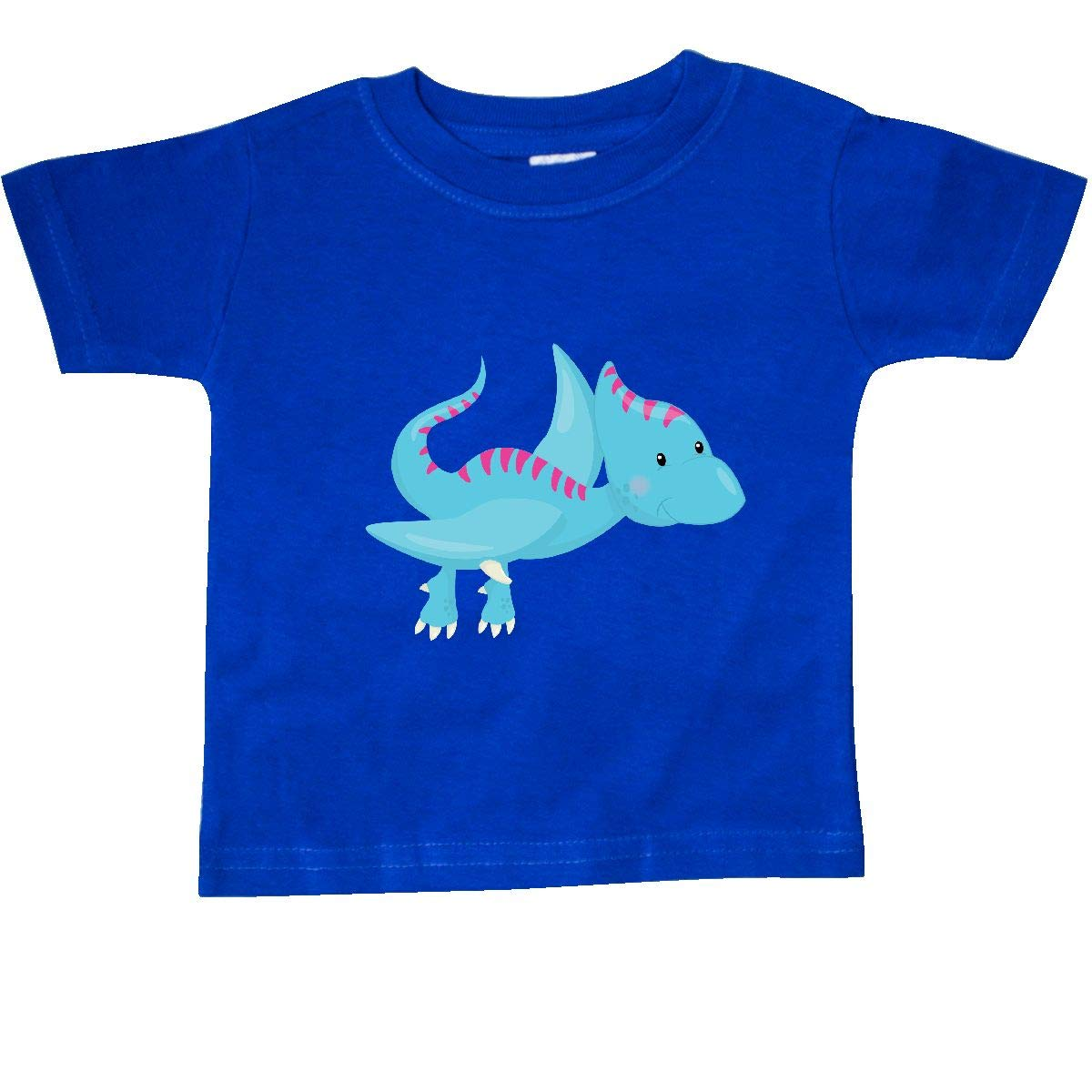 inktastic Cute Blue Dinosaur Baby T-Shirt