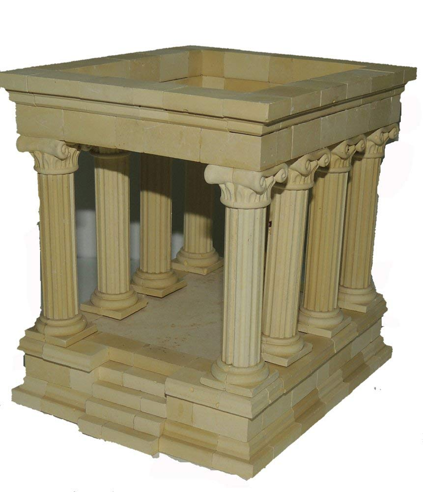 Hirst Arts Roman Temple Without Roof Scale Model Making Kit by MaxxGallery