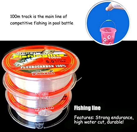 l/'eau salée Fil de pêche 1000 M Monofil admunson Sea Super Strong 100m// 2,99 €