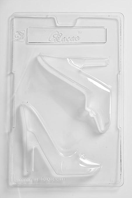 Cacao 3D Stiletto - Molde para Chocolate (2 cavidades, PVC, 17 x 26