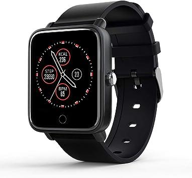 Inteligente Reloj para hombre mujer,Reloj de Fitness Podómetro,smartwatch Impermeable IP67,Smart watch Pulsómetros Cronómetro Monitor de Sueño, Pulsera Actividad Inteligent Deportivo para Android iOS: Amazon.es: Electrónica