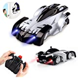Remote Control Car Toys for Kids, Wall Climbing Rc Cars with Dual Mode 360°Rotating Stunt Rechargeable High Speed Vehicle wit