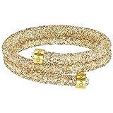 Swarovski Golden Double Crystaldust Bangle
