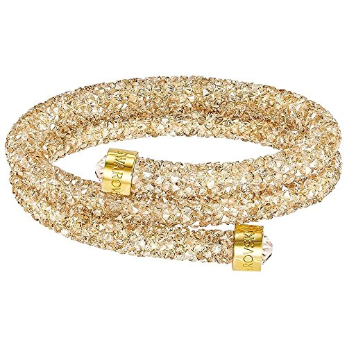 Swarovski Golden Double Crystaldust Bangle from Swarovski