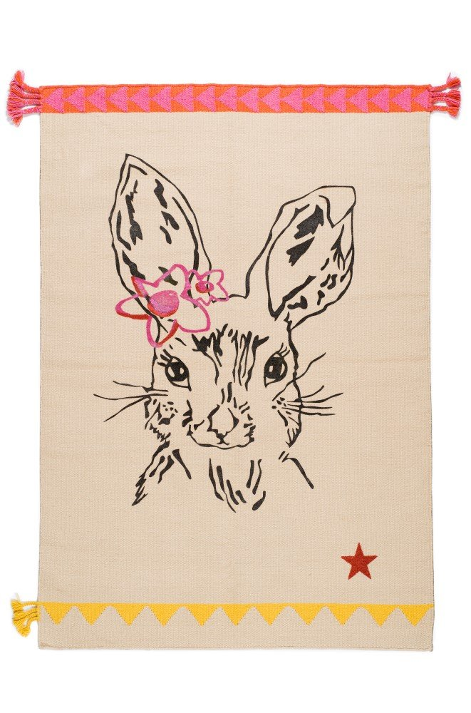 TC3W150B VARANASSI Rug Collection Circus Bunny Beige