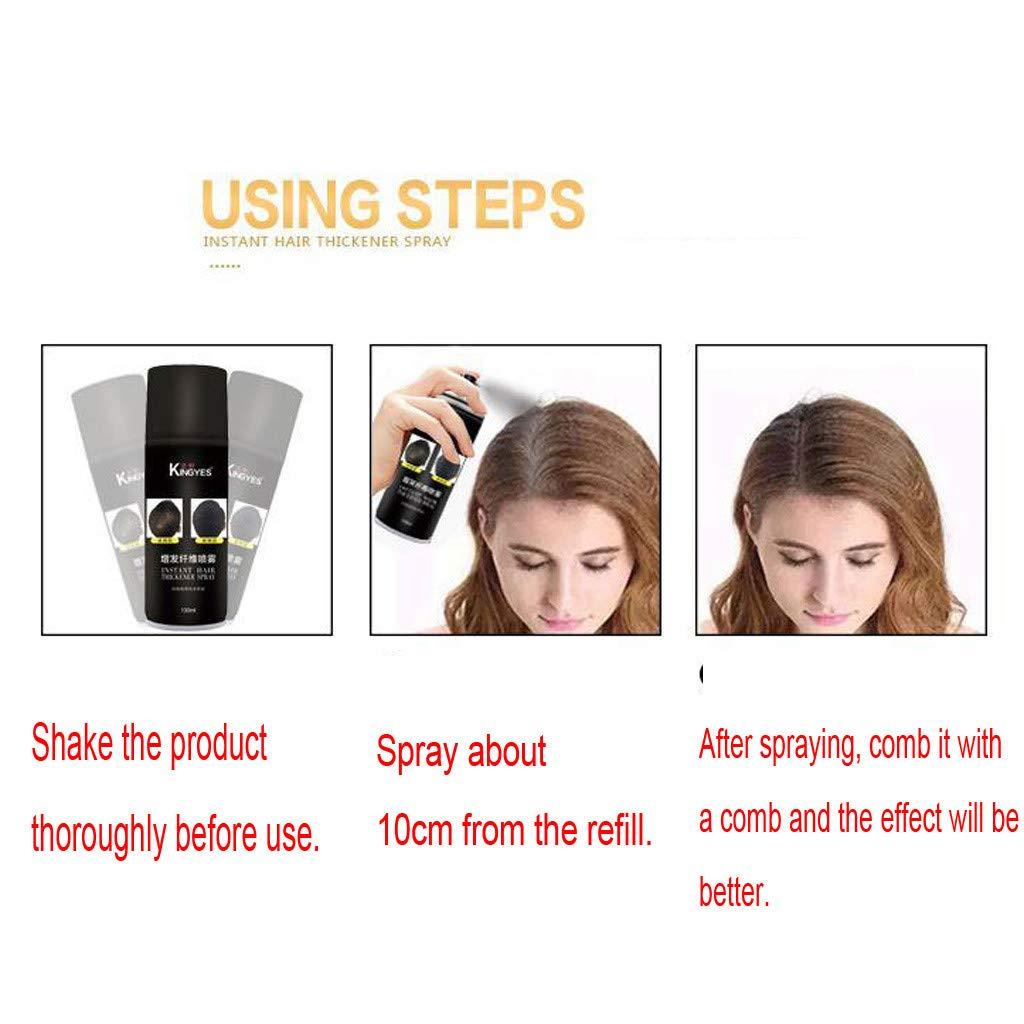 Pelo esparcidor para densificar el cabello y llenar el ...