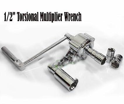 "1//2/"" Torsional Torque Multiplier Wrench Lug Nut Remover"